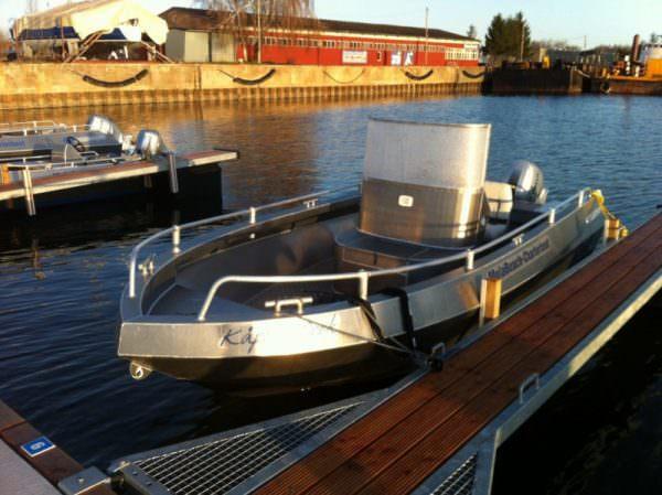 Aluminium Angelboot 580