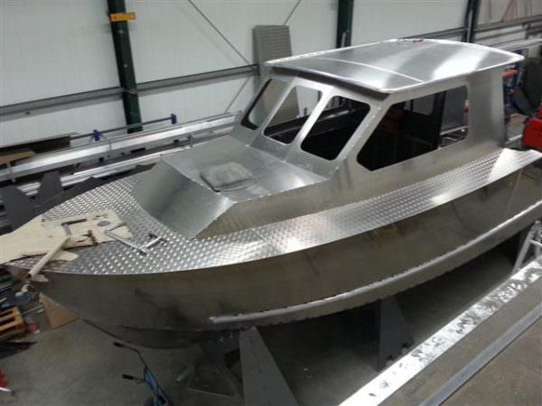 Aluminium Patrouillenboot 28