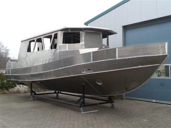 Aluminium Patrouillenboot 1300