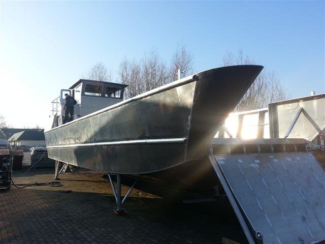 Aluminium Patrouillenboot Coenen