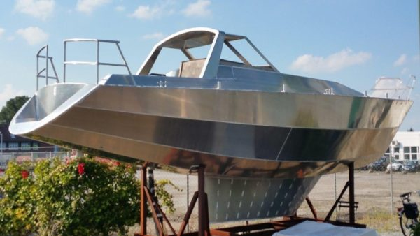 Aluminiumboot VDS 34