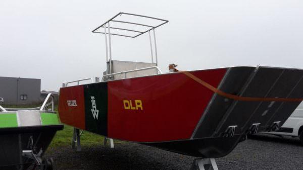 Aluminium Landungsboot 700