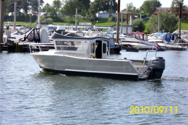 Aluminiumboot CSF 24