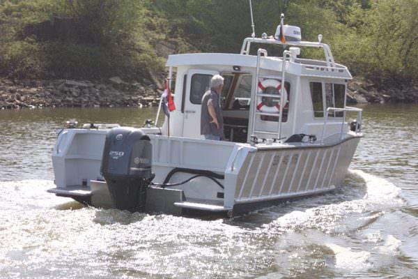 Aluminium Freizeitboot CSF 26 von Coenen