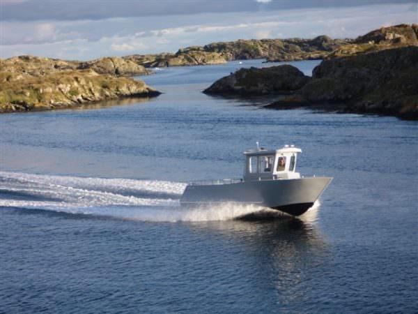 Aluminiumboot CO 27-5