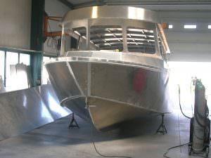 Aluminium Arbeitsboot CSF 34 Coenen
