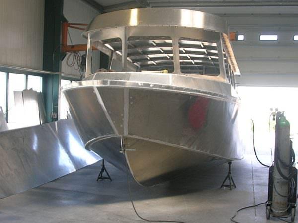 Aluminiumboot CSF 34