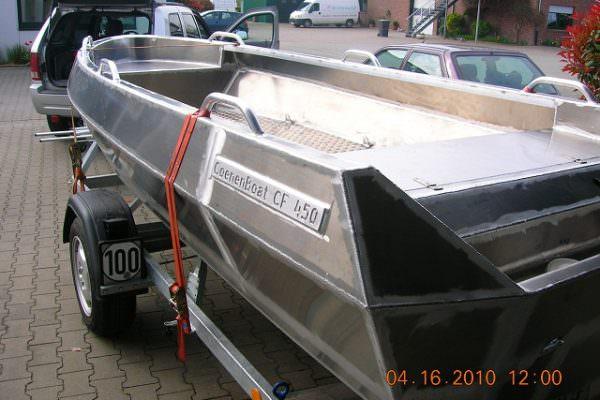 Aluminiumboot Angelboot, Sportboot 550 F Coenen