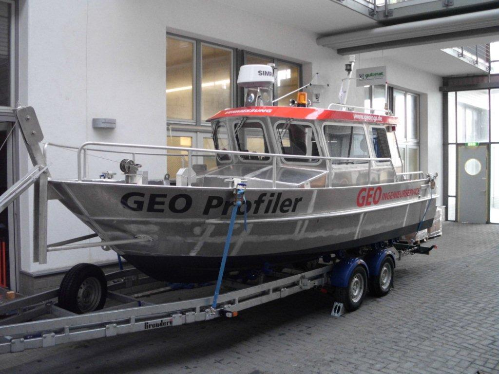 Coenen Arbeitsboot aus Aluminium