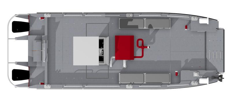 Aluminium Katamaran Bootbau Bootkonstruktion