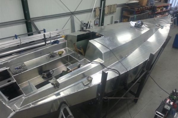 Aluminiumsegler VDS 34 Coenen
