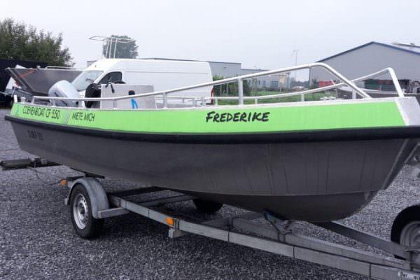 Angelboot, Freizeitboot aus Aluminium von Coenen.