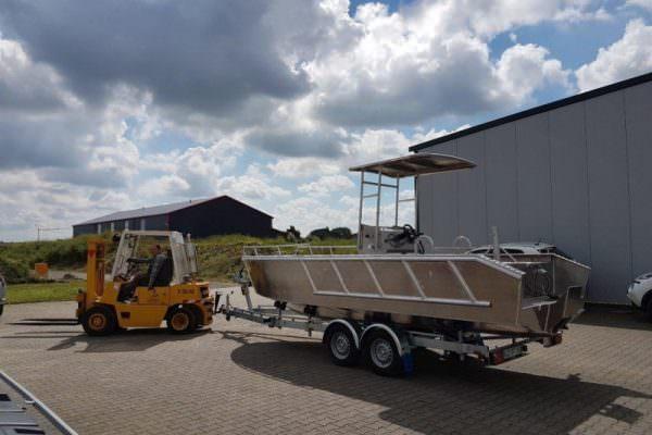 Aluminium Regattaboot Coenen