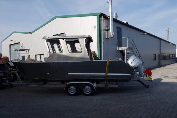 Aluminium Workboat CKB 701 Coenenboats