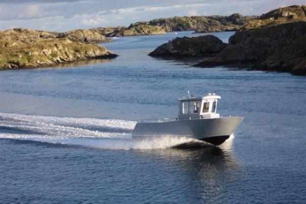 Aluminiumboot Coenen