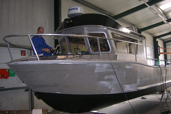 Coenen Aluminiumboot CSF 24