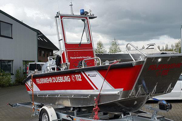 Coenen Landungsboot aus Aluminium
