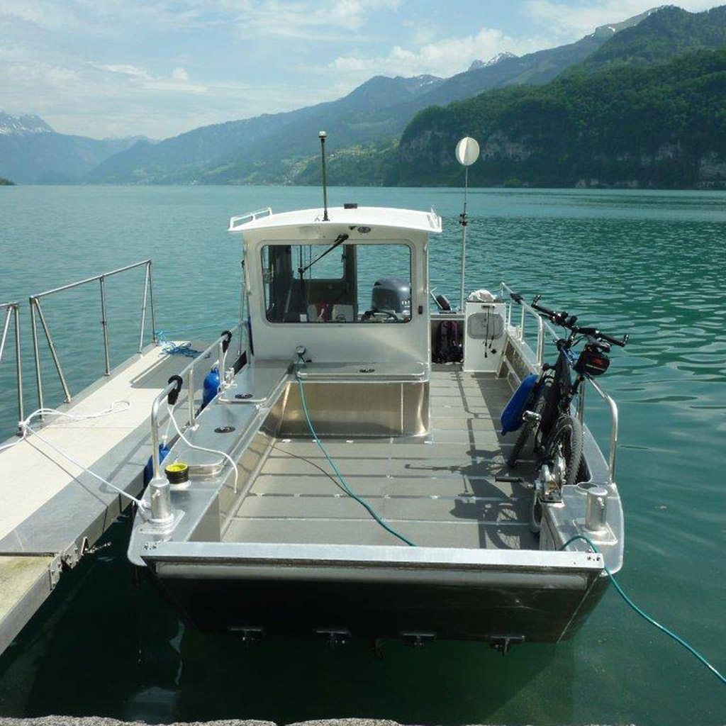 Aluminium Catamaran Coenen