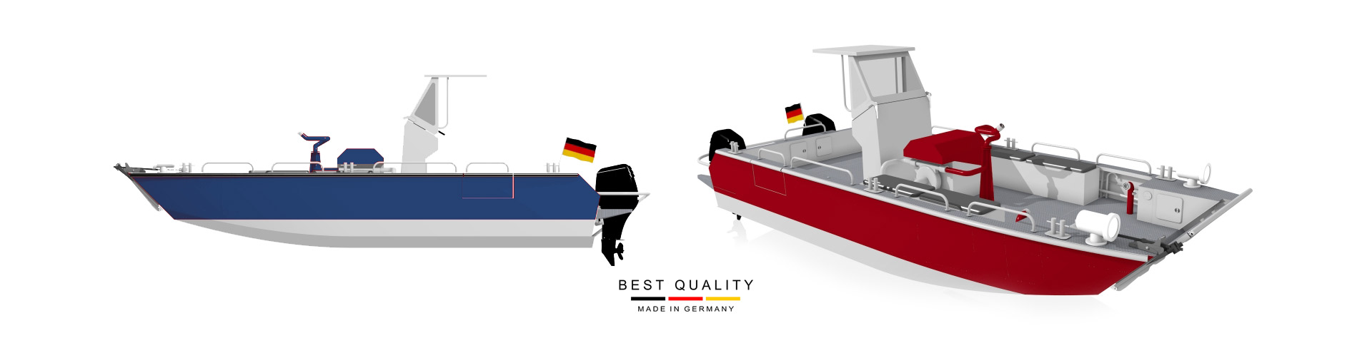 Aluminiumboats Made in Germany